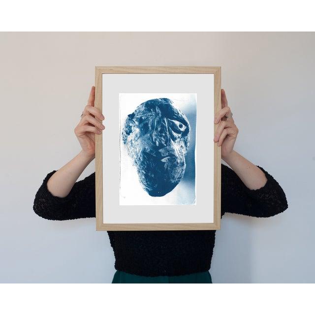 Cyanotype Print - Rock Face - Image 2 of 3