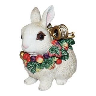 Fitz & Floyd Bunny Rabbit Jar