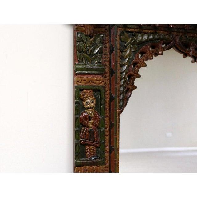 Hand Painted Royal Maharaja Mirror Frame - Image 3 of 5