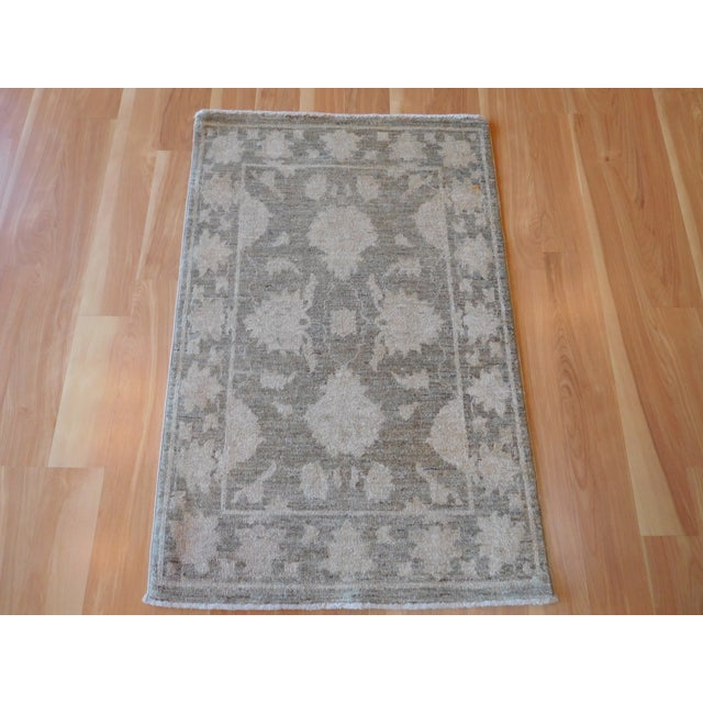 Hand-Knotted Oushak Rug - 2' x 3 - Image 7 of 7