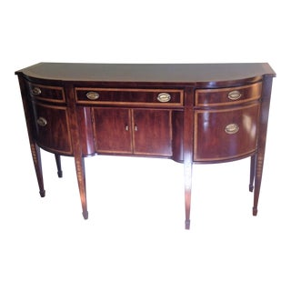 Thomasville Mahogany Inlaid Sideboard