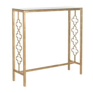 Gold Jovanna Console Table