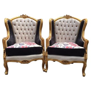 Louis XVI Style Chairs - A Pair