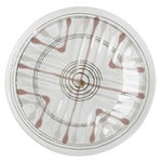 Image of Mid-Century Higgins Fused Glass Plate
