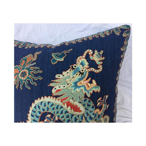 Emperor's Opera Robe Dragon Pillow - Image 2 of 6