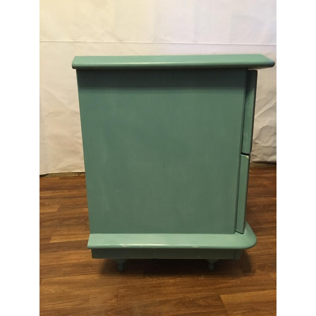 Lane Teal Nightstand - Image 3 of 5