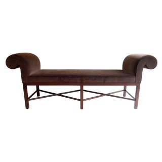 Thomas Pheasant for Baker Scroll Arm Bench