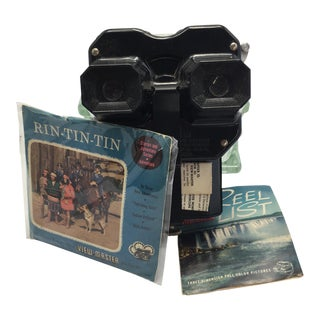 Sawyer's 'View-Master' Stereoscope Set