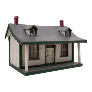 Folk Art Handmade Cape House Maquette