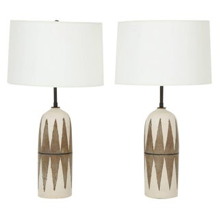 Matthew Ward Studio Ceramic Table Lamps