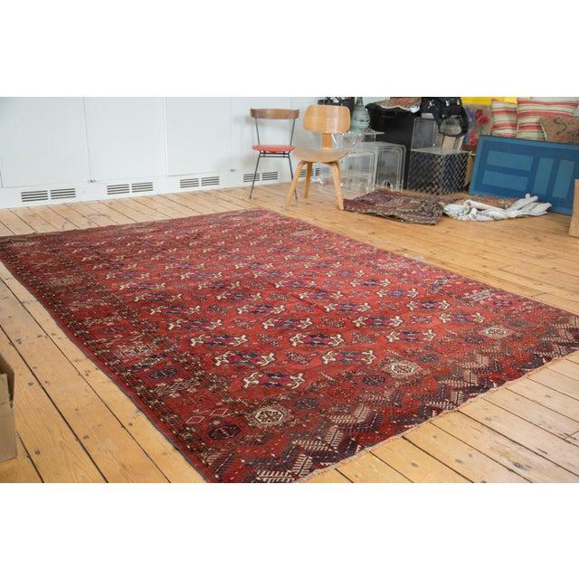 "Antique Tekke Bokhara Carpet - 6'11"" X 10' - Image 2 of 10"