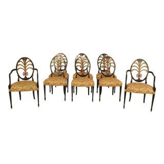 Hepplewhite Dining Chairs - Set of 8