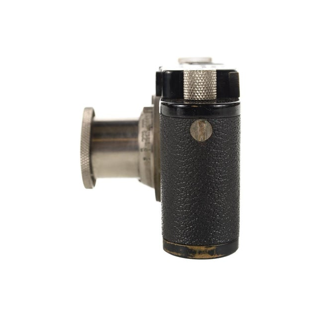 1930s Leica III Black Camera With 5cm Elmar Lens - Image 7 of 10