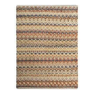"Moroccan Arya Newton Gray & Ivory Wool Rug - 8'3"" x 10'6"""