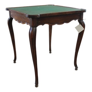 Antique French Game Table