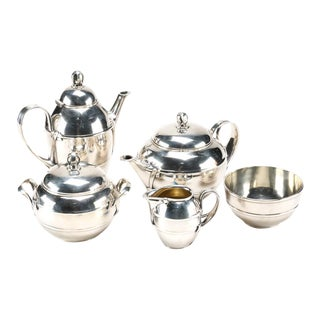 1937 Ercuis French Tea & Coffee Service Set