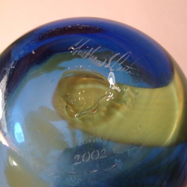 Super Blenko Designer Series Drag Loop Vase - Image 6 of 6