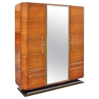 French Art Deco Palisander Rio Armoire