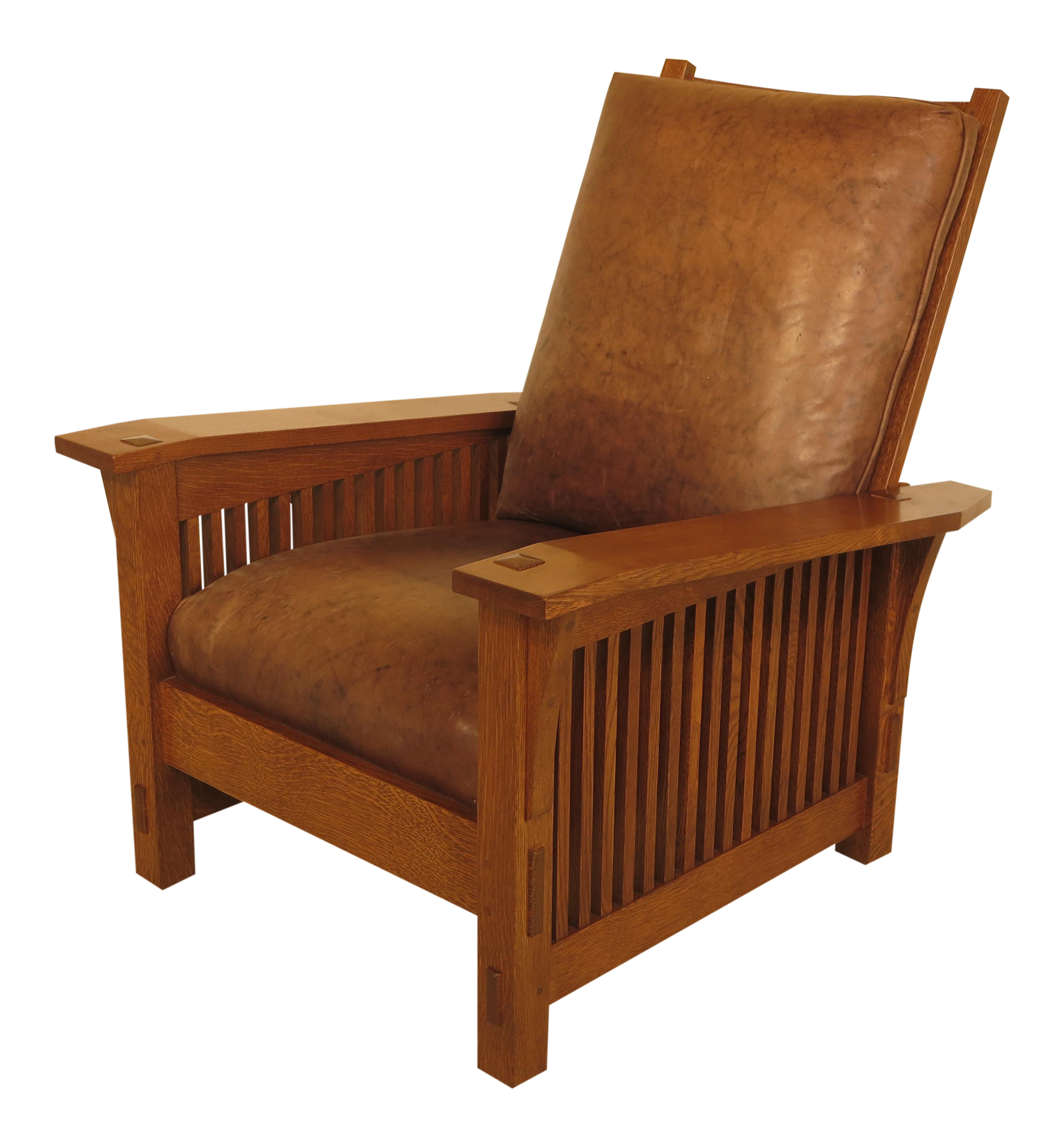 Stickley Mission Oak Arts U0026 Crafts Morris Chair