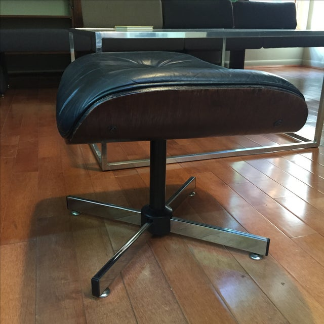 Eames-Style Lounge Chair Ottoman - Image 3 of 6