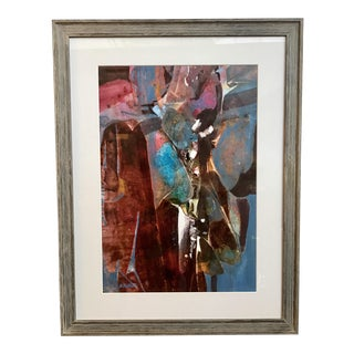 Contemporary Abstract Signed Painting