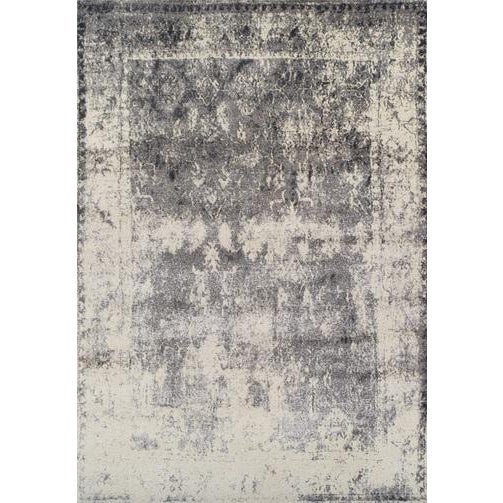 "Image of Silver Antiqued Lara Rug, 9"" x 13"""