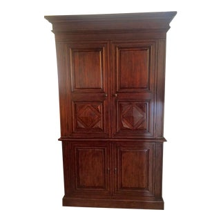 Wooden Armoire or Entertainment Cabinet
