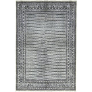 Transitional Hand Woven Rug - 6'7 X 9'7