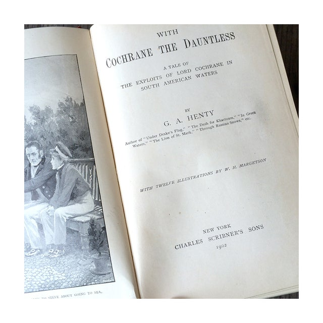 Image of 1900's Adventure Novels by G.A. Henty - Pair