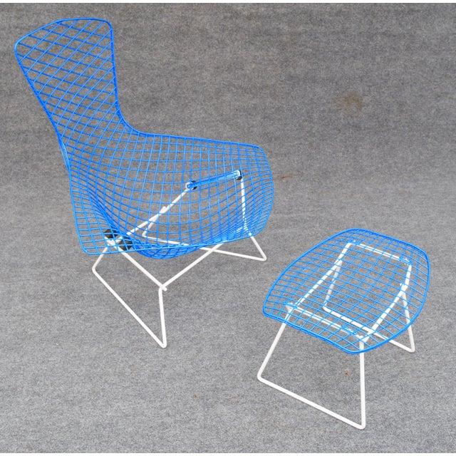 """Mid-Century Modern """"Bird"""" Chair & Ottoman - Image 3 of 10"""