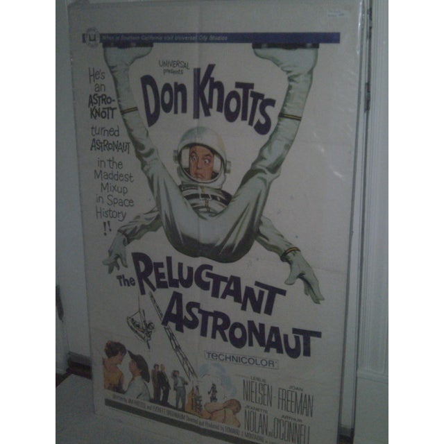 Movie Poster -Don Knotts The Reluctant Astronaut - Image 5 of 5