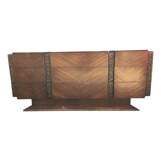 United Furniture Vintage 1970s Brutalist Dresser - Image 1 of 5