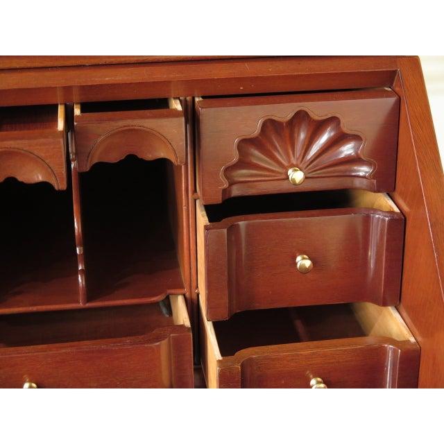 Kindel Winterthur Mahogany Goddard Secretary Desk - Image 8 of 11
