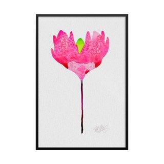 """Pink Sunshine"" Botanical Print"