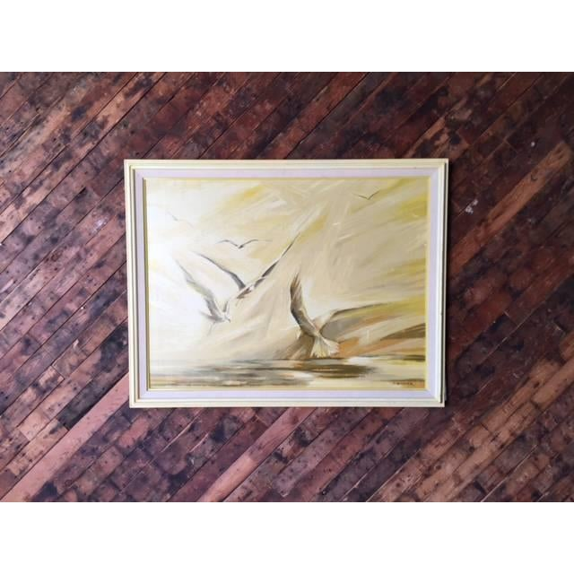 Vintage Large Bird Painting by B. Buckner - Image 2 of 5