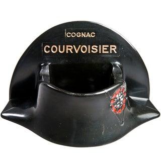 French Courvoisier Bakelite Bicorne Hat Ashtray