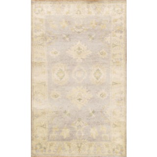 Hand-Knotted Oushak Rug - 3' x 5'