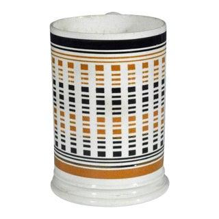 English Pottery Creamware Mocha Pottery Tankard