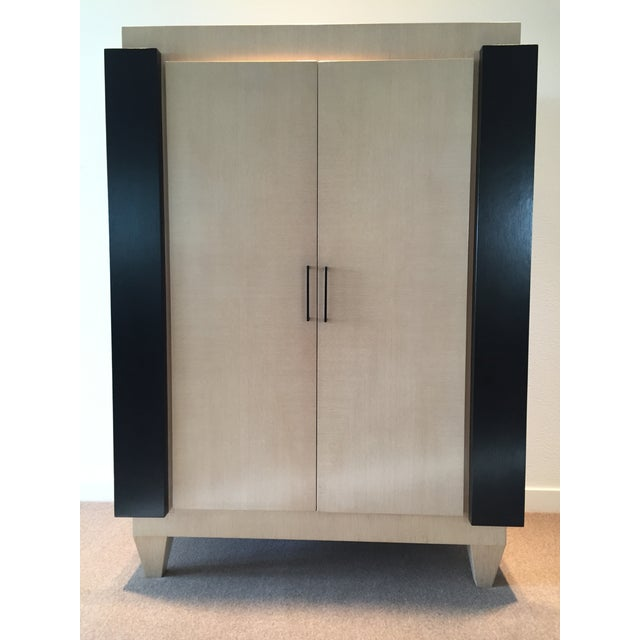 Ash & Wenge Armoire Media Cabinet - Image 2 of 5