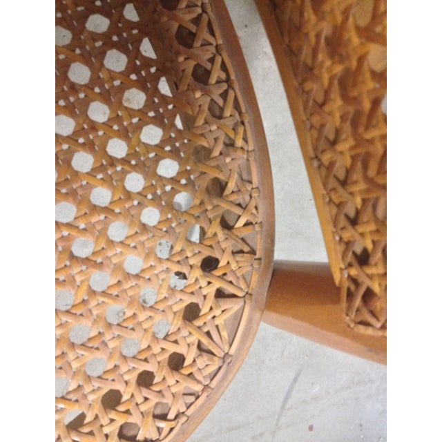 Thonet Mid-Century Bentwood and Cane Armchair - Image 6 of 8