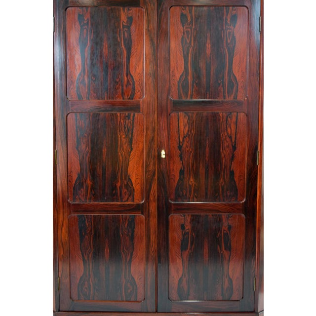Arne Wahl Iversen Attri. Danish Rosewood Cabinet - Image 6 of 10