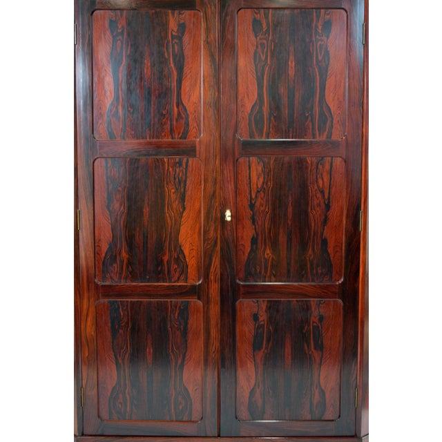 Image of Arne Wahl Iversen Attri. Danish Rosewood Cabinet