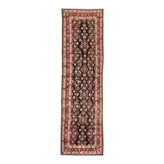 "Apadana - Vintage Persian Rug, 3' x 10'8"""