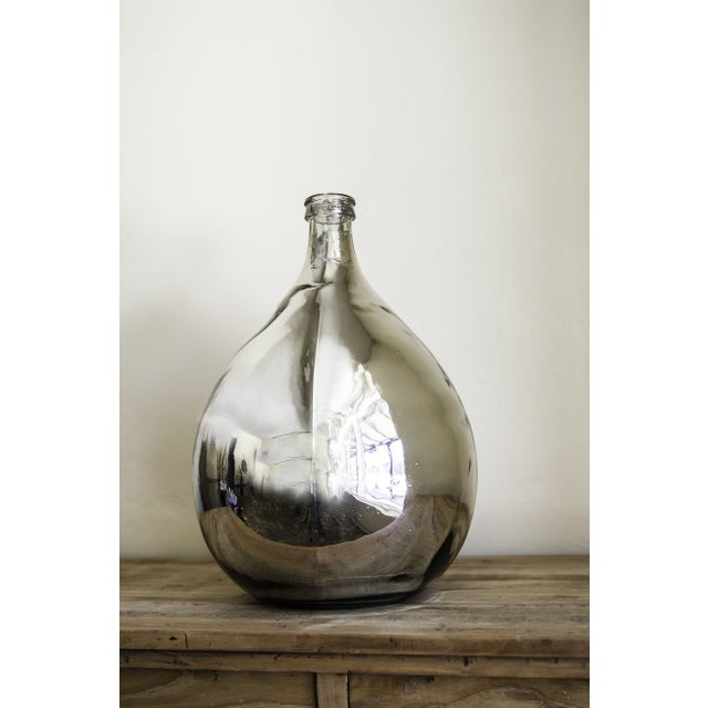 Mercury Glass Wine Vessel - Image 2 of 5