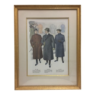 Framed Antique Clothing Line Print, 6 of 14