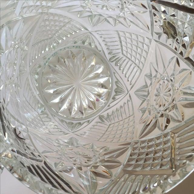 Cut Glass Crystal Ice Bucket - Image 5 of 8