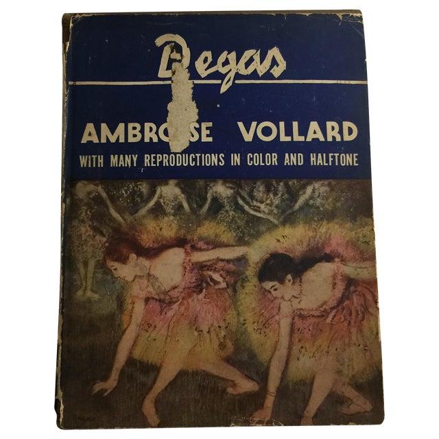 Degas by Ambrose Vollard 1937 Hardcover - Image 1 of 9