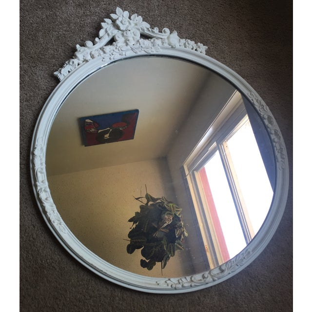 Shabby Chic Circle Mirror - Image 2 of 7