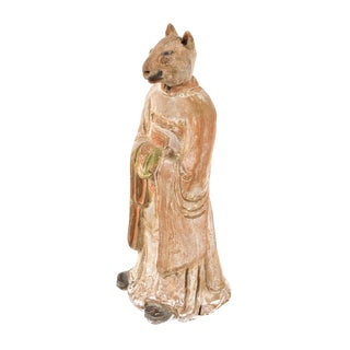 Antique Chinese Zodiac Rat Figurine