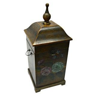 Pagoda Wooden Box for 4 Bottles